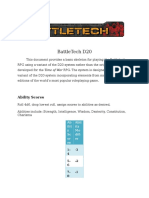 Battletech D20