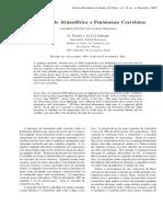 Eletricidade Atmosferica e Fenomenos Correlatos