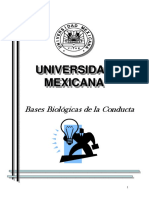 Bases Biologicas de La Conducta U Mexicana