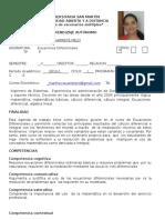 Agenda Ecuaciones Diferenciales 2013-1 (1)