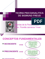 Teoria Psicoanalitica de Sigmund Freuddiapositivas n o 5