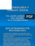 Epistemologìa Trabajo Social