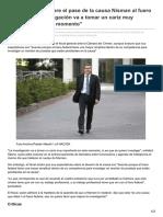 Lanacion.com.Ar-Ricardo Sáenz Sobre El Pase de La Causa Nisman Al Fuero Federal La Investigación Va a Tomar Un Cariz