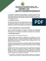 Edital Mestrado PPGIC