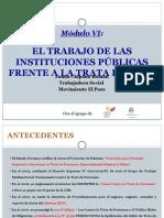 1.6 El Trabajo de Las Instituciones Públicas Frente a La Trata de NNyA