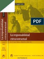 La Responsabilidad Extracontractual - Fernando de Trazegnies (Tomo I)