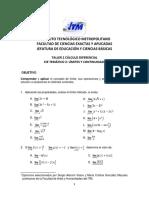 Taller 2 Cálculo Dif-Límites