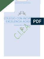 Colegio Con Inciativa de Excelencia Academica