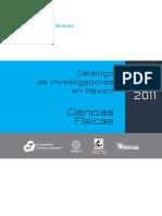 Catalogo Investigadores en Mexico Ciencias Fisica