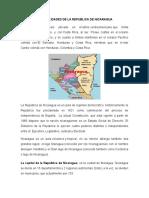 Generalidades y Sitios Arqueologicos de Nicaragia