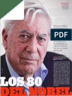 Mario Vargas Llosa. Los 80 del Nobel