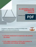 09 Desarrollo Contrato Trabajo Derecho Individual Trabajo