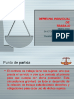 07 Sujetos Contrato Trabajo Derecho Individual Trabajo