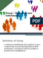 Formal and Informal Groups_OB