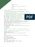 Abbd Matrix Matlab Code