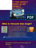 Vincent Van Gogh's Movement in Art