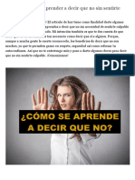 10 Consejos para aprender a decir que no sin sentirte culpable.pdf