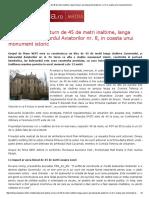 Print - Proiect Pentru Un Turn de 45 de Metri Inaltime, Langa Guvern, Pe Bulevardul Aviatorilor Nr