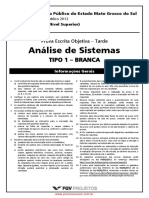 Analista Analise de Sistemas Tipo 01 0