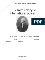 USA - From Colony to International Power