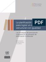 CEPAL Estrategia Para La Participacion Ciudadana