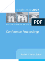 New Media Consortium - 2007 Conference