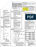 Exam Cheatsheet 1