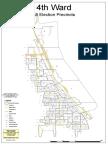 4th Ward map