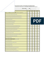 The ASD Assessment Scale_Questionnaire