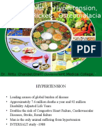 role of diet in hypertension anemia