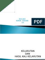 (Y)KULIAH  kimdas s & K-sp-13.ppt