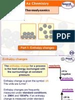 Thermodynamics Part 1 - Enthalpy Changes