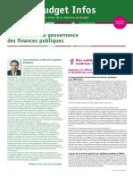 Gouvernance Finances Publiques
