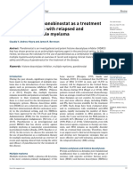 Potential of Panobinostat as a Treatment of Multiple Myeloma