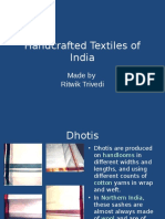 Handcrafted Textiles of India