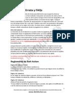Bolt Action Errata y FAQs Españo 1.2