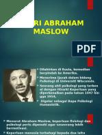 Teori Abraham Maslow