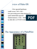 Palm OS Overview