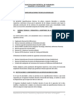 Especificaciones Técnicas SSB Pacaypata