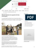 Abusivo Desalojo de Ocupantes de Lotes Municipales - Articulos - ABC Color