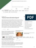 """""""Estamos Hartos Del Ministro Figureti"""" - Edicion Impresa - ABC Color"""