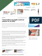 """""""Invernadero Se Puede Construir Máximo en 30 Días"""""""