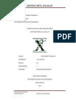 Laporan I-sintesis Metil Salisilat 2016 (Wiri Resky Amalia)