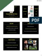 16- Fisiopatologia Del Dolor 2015-UNMSM