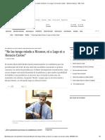 """""""No Les Tengo Miedo a Nicanor, Ni a Lugo Ni a Horacio Cartes"""" - Edicion Impresa - ABC Color"""