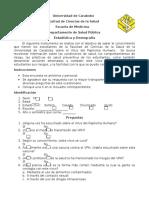 Instrumento Estadistica VPH