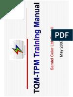 Tqm-tpm Trg Manual