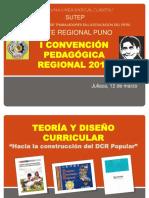 Ppt Teoría y Diseño Curricular