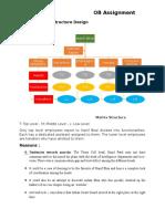 Organizational Structure Design