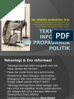 Seminar Teknologi Informasi & Propaganda Politik (AMPI Jatim)